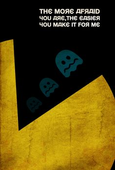 PAC-MAN Propaganda by Joseph Baranowski, via Behance.net