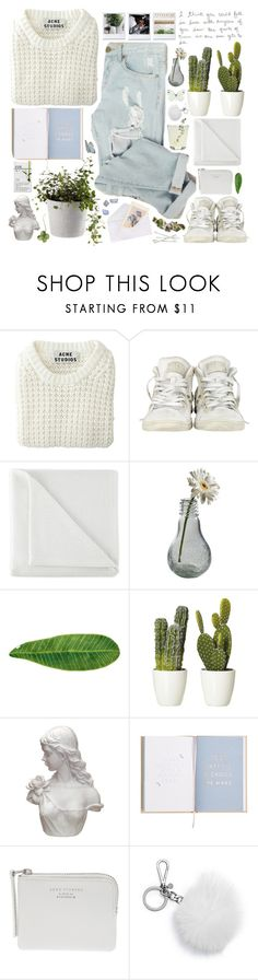 """kissed by the ice"" by hyflucid ❤ liked on Polyvore featuring Acne Studios, Converse, JCPenney Home, Dot & Bo, Abyss & Habidecor, Chandelier, ...Lost, Esse, Bobbi Brown Cosmetics and MICHAEL Michael Kors"