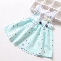 Summer Bow Girls Dress Deer Dresses Cotton Girl Dress Kids Pretty Children Clothing Retail 2015 -in Dresses from Mother & Kids on Aliexpress.com | Alibaba Group