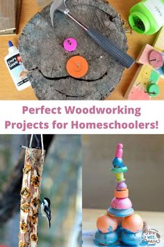 These beginner woodworking projects are perfect for kids to make. Woodworking is a great homeschooling project for families as it can tie in so many different subject matters. Math, art, literacy, STEM, and more! Plus you get an awesome project to enjoy at the end.
