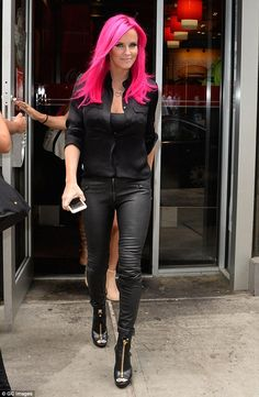 She did it first:Jenny McCarthy did something similar in July. The 43-year-old former Pla...