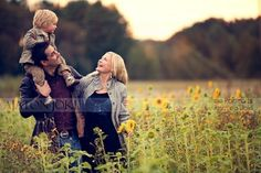 family of three together-photography