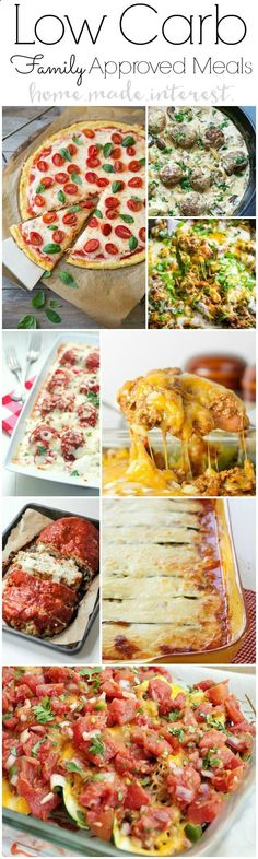Low Carb dinner ideas that are kid and family approved. Healthy doesnt have to taste bad. Low carb diets and lifestyles are becoming very popular. Exercise and eat low is a great way to lose weight.Low carb dinner recipes for family will make meal time much easier!
