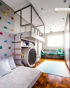 Children will not be bored by designing children's rooms to be more attractive. The child's mind will be more imagination