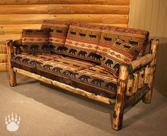 Rocky Top Furniture is an industry leading manufacturer of living room sofas and log sofa sets. Rustic Log Furniture, Rustic Couch, Wood Furniture, Furniture Design, Modern Furniture, Sofa Couch, Diy Sofa, Sofa Set, Couch Cushions