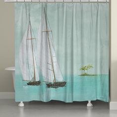 Shower Curtain In Beach Inspired Stripes Standard And Long Lengths 70, 74,  78, 84, 88, Or 96 In. Letu0027s Make One In Your Colors | Pinterest | Beach,  Beach ...