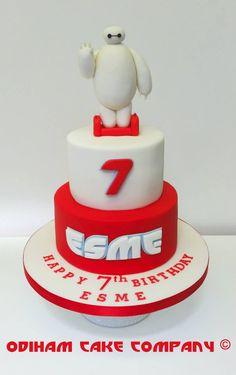 OCC - Hello. I am Baymax, your personal healthcare companion. #cake #disney #bighero6 #Baymax #big #hero #6