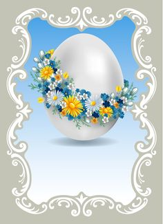 "Photo from album ""Пасха"" on Yandex. Happy Easter Greetings, Easter Greeting Cards, Egg Crafts, Easter Crafts, Easter Wallpaper, Easter Pictures, Decoupage Vintage, Easter Printables, Easter Holidays"