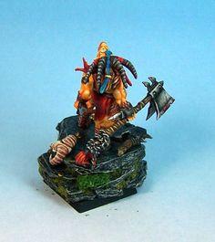 Miniature Painting, John Salmond, Games Workshop, Warhammer, Table Top Gaming