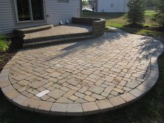How to Lay a Herringbone Paver Pattern Without Any Cuts | House ...