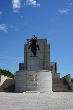Jan-Žižka-Denkmal - eine Reiterstatue