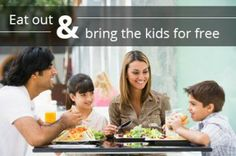 Spend More Family Time and Less Money at These Kids Eat Free Restaurants