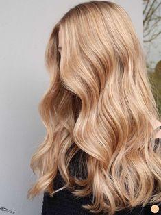 Blonde Hair Looks, Blonde Hair Shades, Warm Blonde, Golden Blonde Hair, Dark Blonde Hair, Platinum Blonde Hair, Caramel Blonde Hair, Blonde Honey, Blue Hair