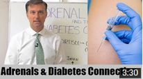 In this video, Dr. Berg explains more about the connection between the adrenals and diabetes.  https://www.youtube.com/watch?v=rbT1Enu6Llk