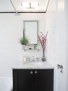 Before & After: A Battered Brooklyn Bathroom Goes Back to its Roots — Sweeten | Apartment Therapy