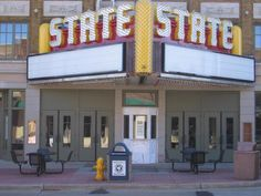 our beloved state theater...sioux falls