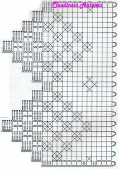 The edging in the photo says it is from a pattern found in Crochet Borders, Crochet Motif, Crochet Doilies, Crochet Lace, Crochet Stitches, Crochet Patterns, Crochet Filet, Crochet Edgings, Crochet Squares