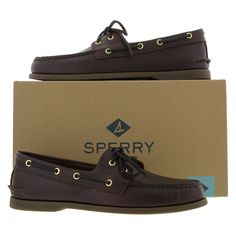 Sperry Mens Top Sider Boat Shoe 0195214 - Amaretto