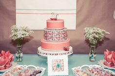 40 years party bolo 40 anos festa 40 anos festa coral e mint