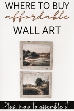 Answering all your questions about where to get cheap wall art that looks way more expensive than it is! #cheapwallart