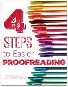 Kids proofreading essay tips