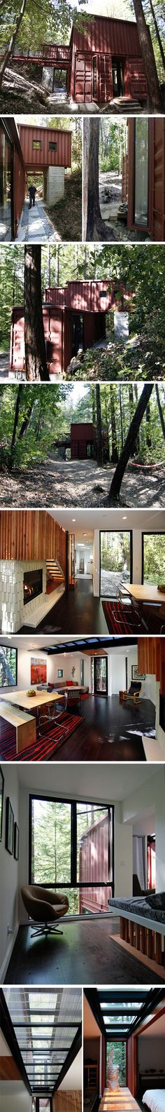 Maison contemporaine à ossature bois BBC sur les hauteurs d\u0027Aix en - cout extension maison 20m2