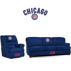 Use this Exclusive coupon code: PINFIVE to receive an additional 5% off the Chicago Cubs Microfiber Furniture Set at SportsFansPlus.com