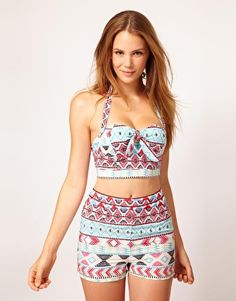 Highwasted swimsuits yes please!!! on Pinterest ...