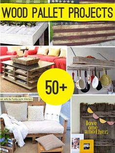 Wood pallets may seem unsightly and unwieldy at first, but when given the right attention and tender loving, they can be transformed into unique statement pieces that fit right into your home. Make sure you get the right pallets. Save yourself a trip to IKEA and build your collection with wood pallets. In this fun …
