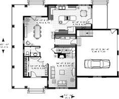 Primer Plano del Plan Granja Casa 65477
