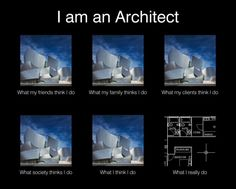 I'm an ARCHITECT