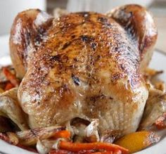 "Herb Roast Chicken: ""If you're looking for a wonderfully flavored, moist, tender, 'Is this good or what?' chicken, look no further. The potatoes also came out wonderfully crusty and flavorful!"" -Rumpole"