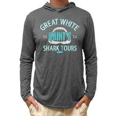 817c65b3 Jaws Wat Shok Toh Hooded T-Shirt Hooded Long Sleeve Shirt, Long Sleeve  Shirts