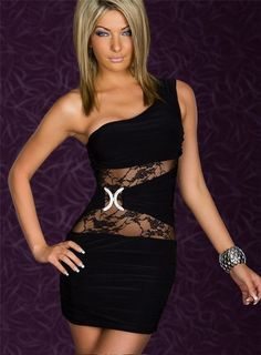 Find More Apparel  amp  Accessories Information about 2014 Sexy Black Lace  dress 3 colors One e29ec4eb414a
