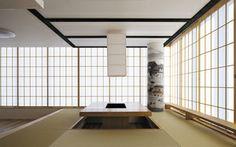 千里中央の家 高層マンションの一室をデザインリフォーム 居間