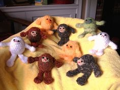 Crocheted Sasquatch?  Yes, please!