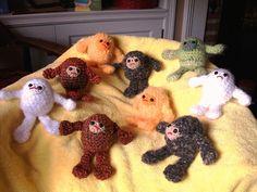 Crocheted Sasquatch?  Yes, please!
