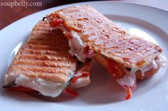 panini with prosciutto tomato basil and mozzarella more tomato basil ...