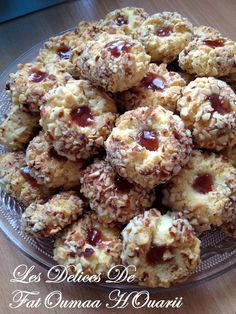 Diamants aux Amandes Shortbread Recipes, Cookie Recipes, Dessert Recipes, Cupcake Recipes, Biscotti Cookies, Cake Cookies, Cupcakes, Algerian Recipes, Desserts With Biscuits