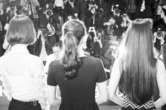 Perfume (JPN) &Girls - plus-multiply:   Perfume attends the opening...