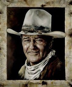 John Wayne.  C'mon, it's The Duke!