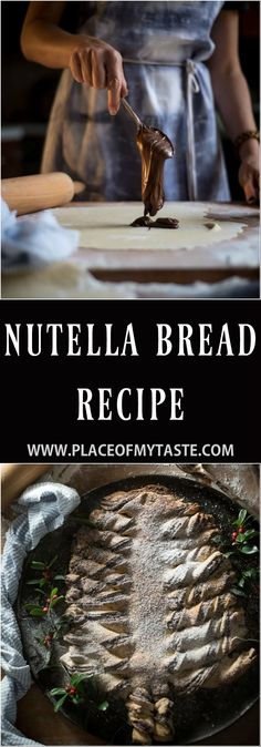 This Nutella Bread recipe is simply amazing and SOO delicious! I made a quick video of how to make a Nutella bread so check it out!