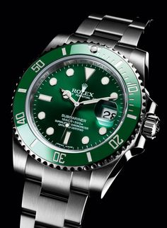 Rolex Submariner Hulk Green Dial & Bezel. Stainless Steel