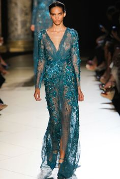 Elie Saab Winter Couture Gown - Gasppppppp !!!