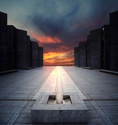 the Salk Institute - Visited a couple years ago. Science & architecture in one place. All things I love.