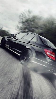 Mercedes Benz Drift - The iPhone Wallpapers