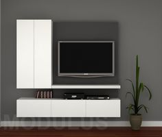 Mueble de Tv, Wall Unit