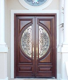 Contemporary Exterior Wood Entry Doors