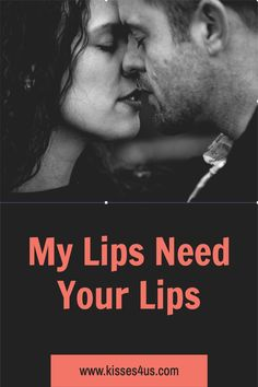 As you draw a Kiss Card from your Kisses 4 Us box, tell him how much your lips need his lips! Dating Quotes, Relationship Quotes, Relationships, Cute Inspirational Quotes, Motivational Quotes, Romantic Kiss Quotes, Kissing Quotes For Him, Forehead Kisses, Flirty Quotes
