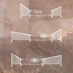 Besucherzentrum, Atacama-Wüste, Chile